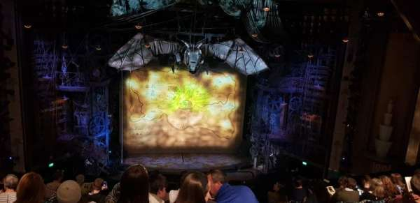 Apollo Victoria Theatre, section: Dress Circle, row: G, seat: 30
