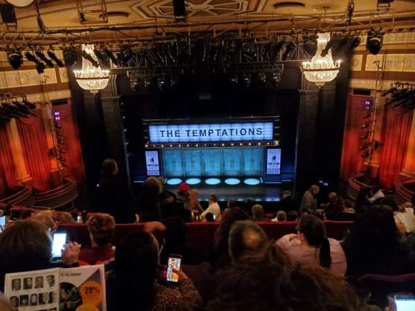 Imperial Theatre, section: Rear Mezzanine 3, row: E, seat: 5