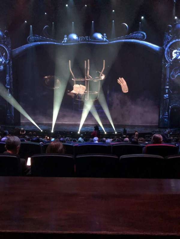 Michael Jackson One Theatre, section: 203, row: AA, seat: 13-14