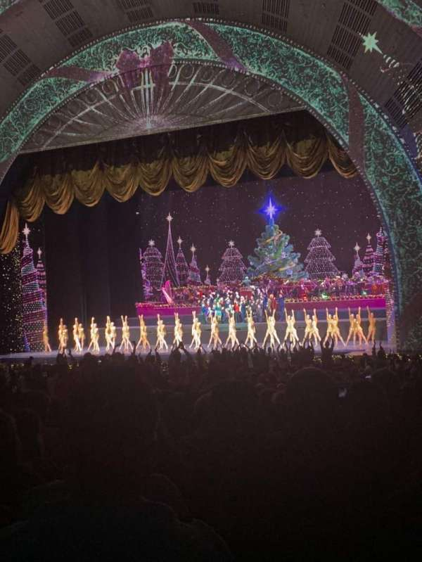 Radio City Music Hall, section: ORCHESTRA 2, row: P, seat: 201