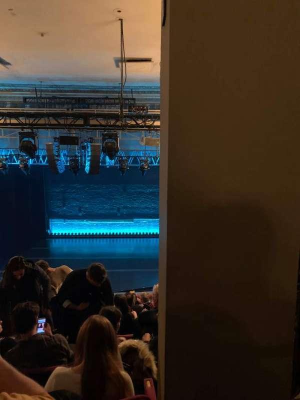 Broadhurst Theatre, section: Mezzanine C, row: K, seat: 112