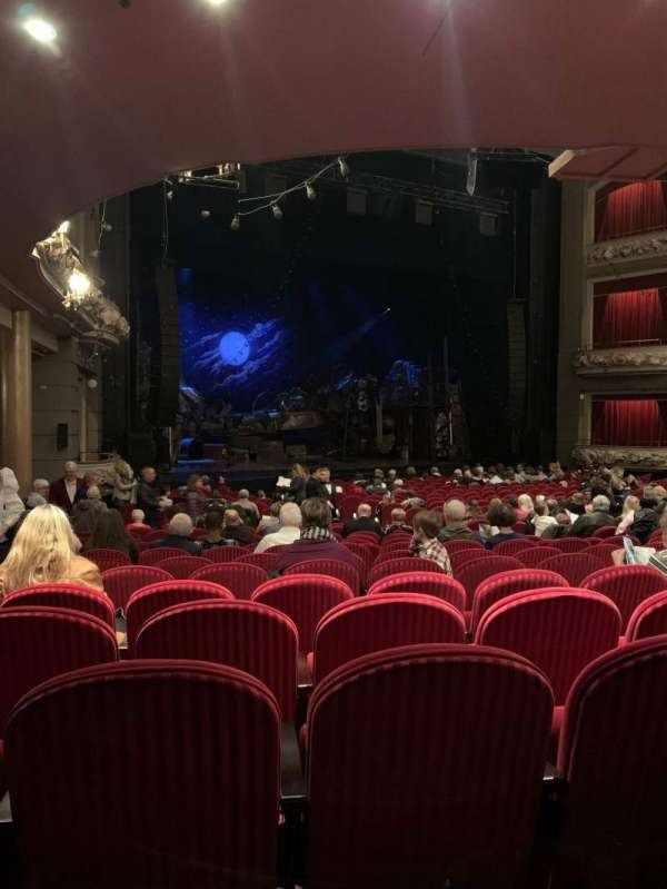 Princess of Wales Theatre, section: Orchestra, row: P, seat: 47