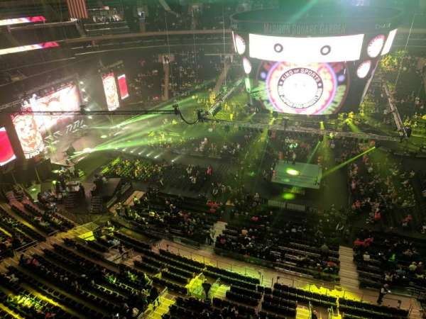 Madison Square Garden, section: 326, row: 1