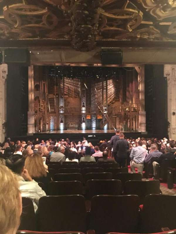 Orpheum Theatre (San Francisco), section: Orchestra LC, row: Z, seat: 105
