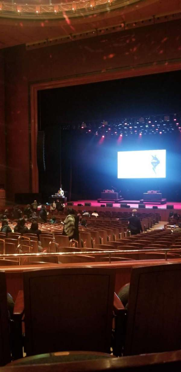 Prudential Hall at the New Jersey Performing Arts Center, section: Grand Tier R, row: B, seat: 8