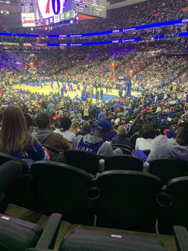 Wells Fargo Center, section: 104, row: 15, seat: 15