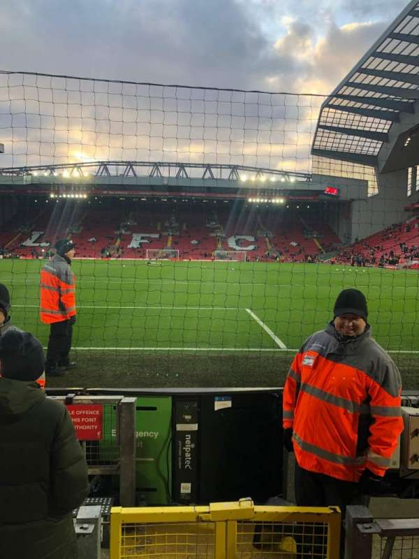 Anfield, section: 124, row: 2, seat: 92