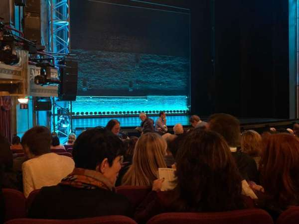 Broadhurst Theatre, section: Orchestra L, row: O, seat: 15