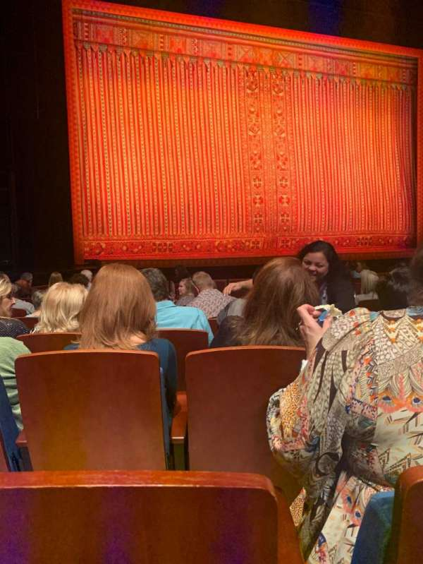 Au-Rene Theatre at the Broward Center, section: Orchestra L, row: N, seat: 5