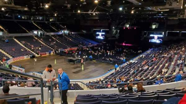 Blue Cross Arena, section: 218, row: J, seat: 13