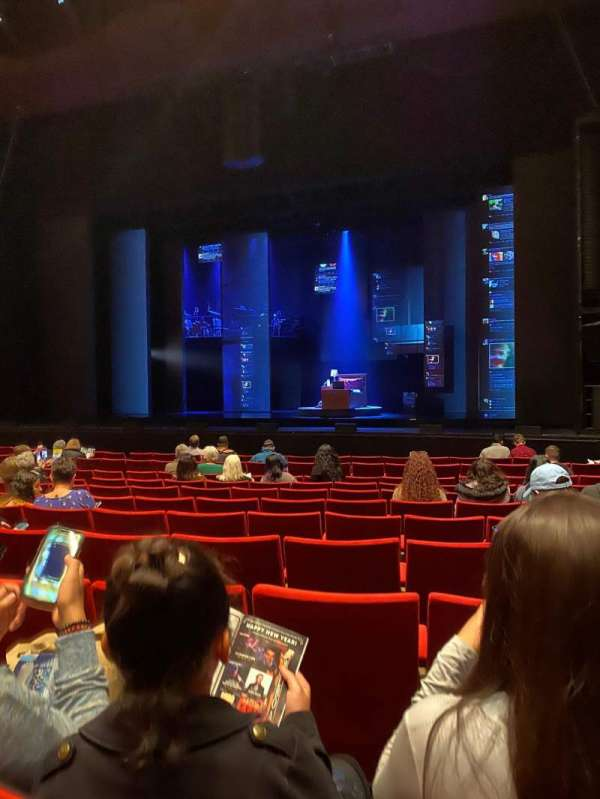 San Diego Civic Theatre, section: ORCHR1, row: H, seat: 24