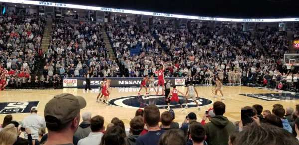 Bryce Jordan Center, section: 123L, row: DD, seat: 14