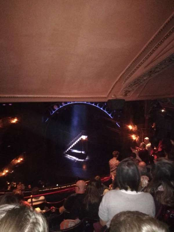 Palace Theatre (West End), section: Grand circle, row: G, seat: 12