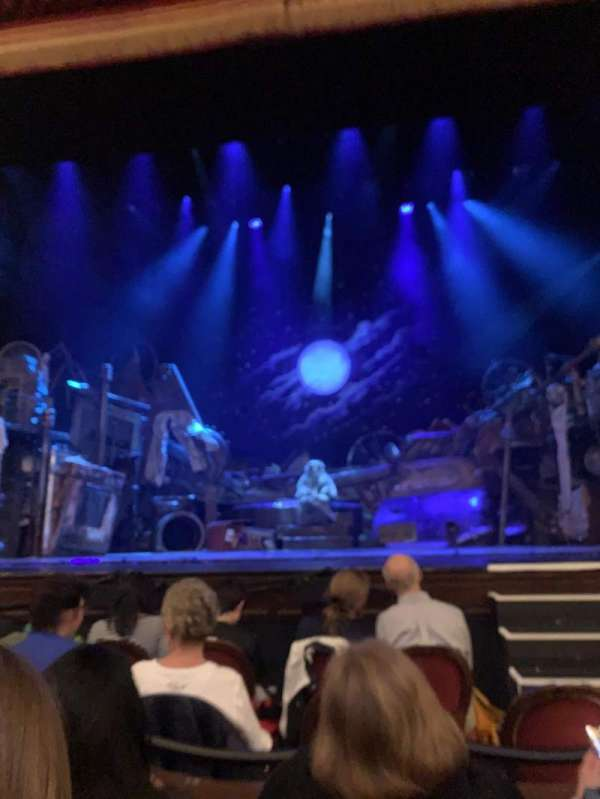 Citizens Bank Opera House, section: Orchestra C, row: CC, seat: 103