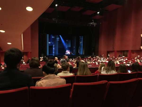 San Diego Civic Theatre, section: DRESL6, row: E, seat: 49