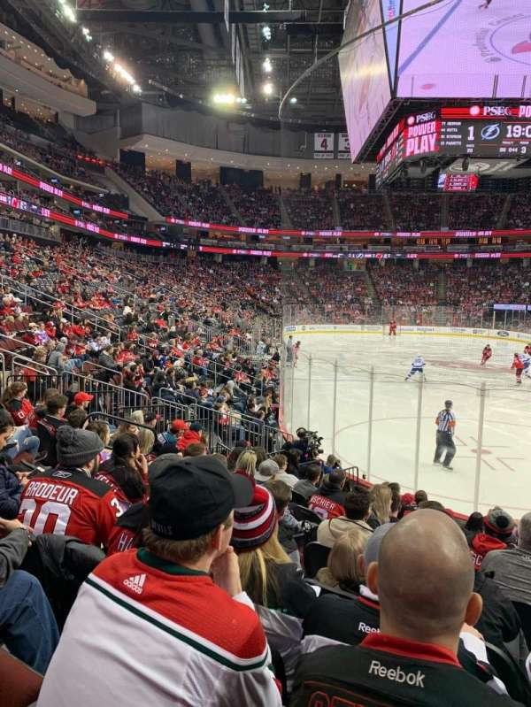 Prudential Center, section: 1, row: 11, seat: 8