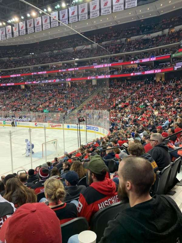 Prudential Center, section: 1, row: 11, seat: 7