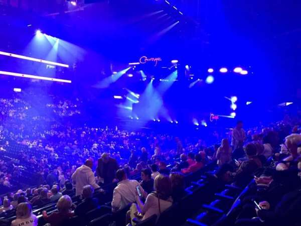 Bridgestone Arena, section: 104, row: F, seat: 21
