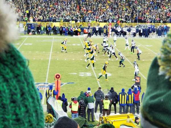 Lambeau Field, section: 116, row: 24, seat: 5