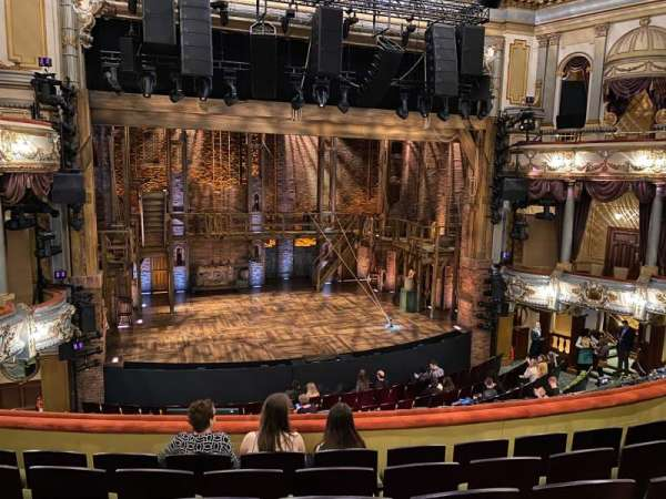 Victoria Palace Theatre, section: Royal Circle, row: F, seat: 29