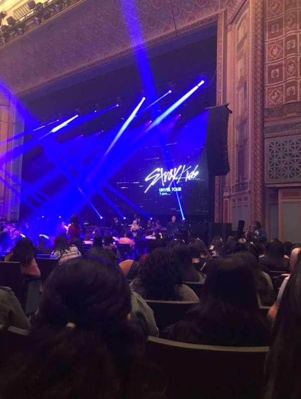 Pasadena Civic, section: Orchestra R, row: O, seat: 38