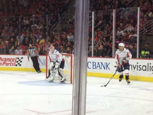 PNC Arena, section: 117, row: B, seat: 7