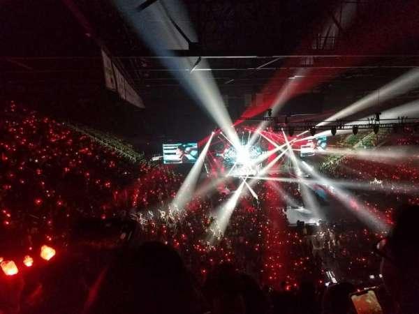 EagleBank Arena, section: 110, row: V, seat: 18