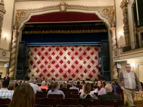 Saenger Theatre (Pensacola), section: Orchestra C, row: P, seat: 114
