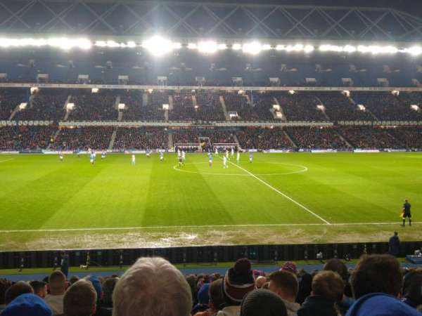 Ibrox Stadium, section: Gf5, row: Y, seat: 131