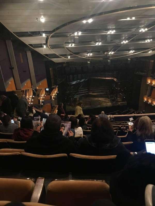 Ahmanson Theatre, section: Balcony, row: K, seat: 39