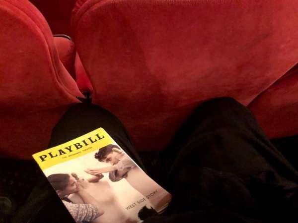 Broadway Theatre - 53rd Street, section: Orchestra, row: G, seat: 10