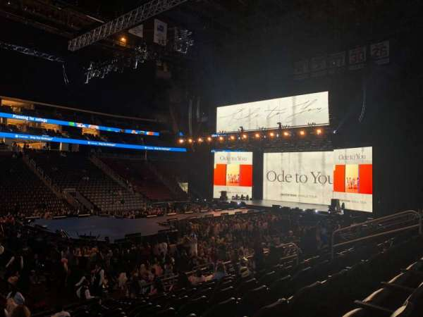 Prudential Center, section: 7, row: 14, seat: 14