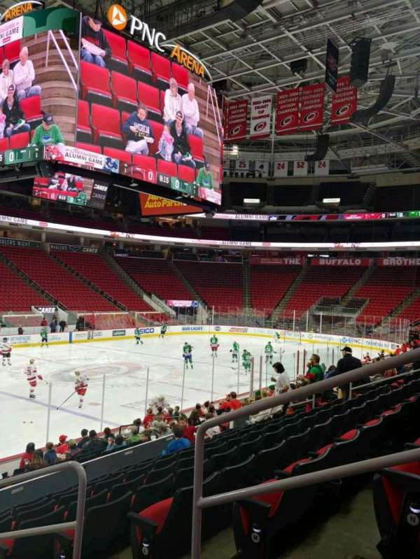 PNC Arena, section: 122, row: P, seat: 3