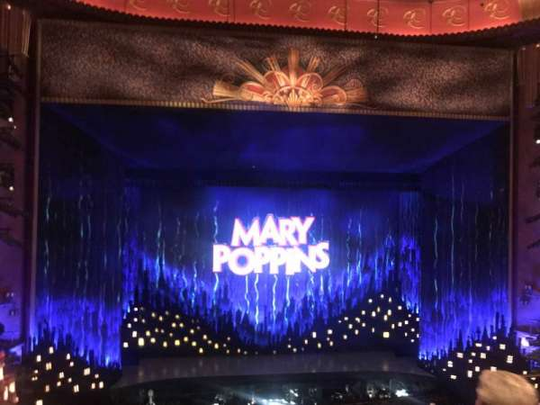 Prince Edward Theatre, section: Dress Circle, row: D, seat: 20