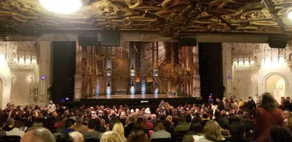 Orpheum Theatre (San Francisco), section: Orchestra LC, row: BB, seat: 109