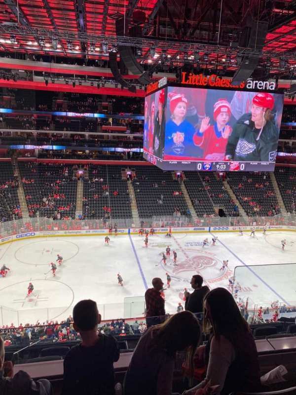 Little Caesars Arena, section: 228, row: 3, seat: 13