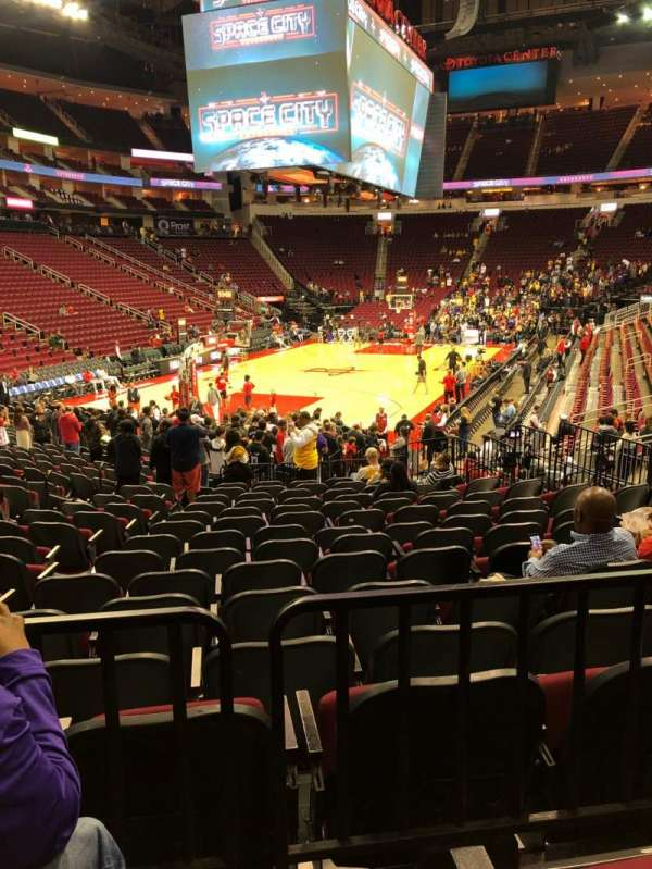Findlay Toyota Center, section: 112, row: 17, seat: 13