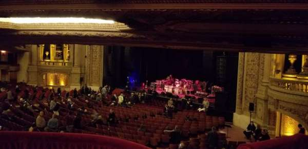 Chicago Theatre, section: Mezzanine Box F, seat: 3