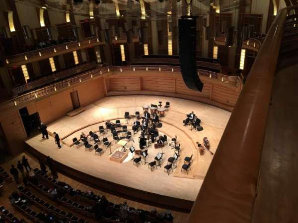 The Music Center at Strathmore, section: Upper Tier right, row: Box 3, seat: 5