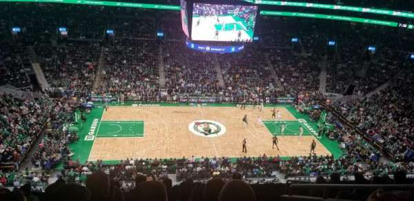 TD Garden, section: Bal 317, row: 8, seat: 5