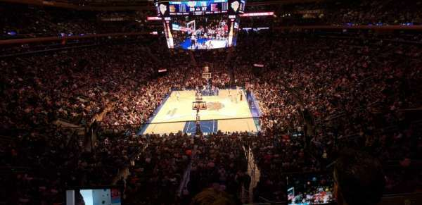 Madison Square Garden, section: 204, row: Bs, seat: 16