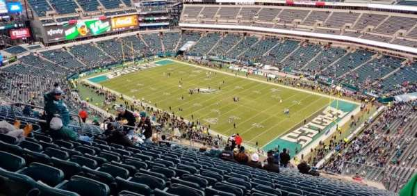 Lincoln Financial Field, section: 207, row: 28, seat: 14