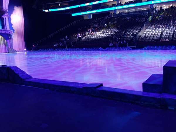 Prudential Center, section: 20F, row: AA, seat: 8