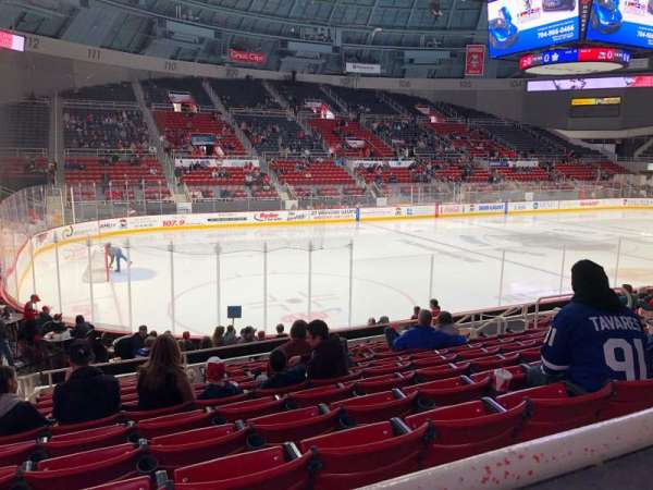 Bojangles' Coliseum, section: 120, row: K, seat: 13