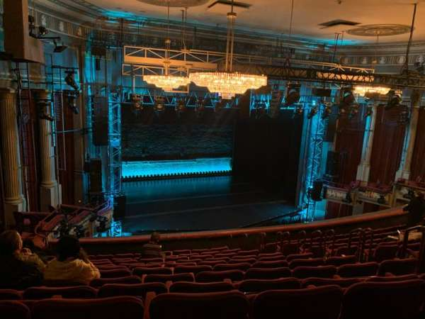 Broadhurst Theatre, section: Mezzanine L, row: L, seat: 15