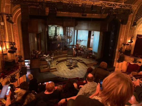 Walter Kerr Theatre, section: Mezzanine L, row: G, seat: 7