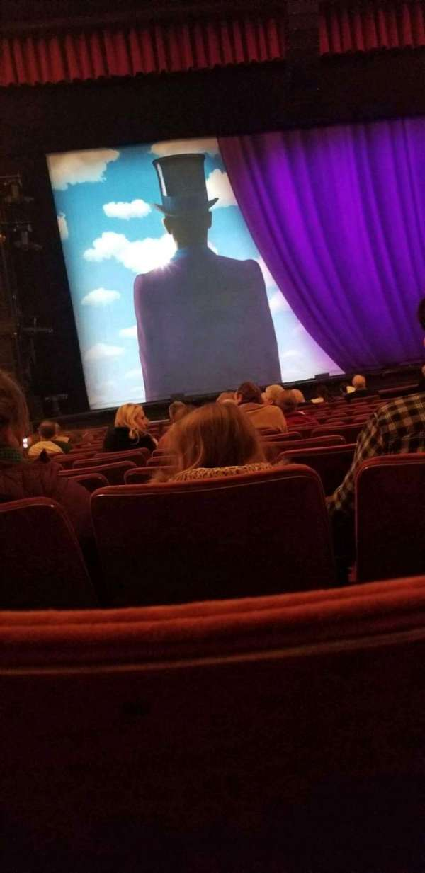 Orpheum Theatre (Memphis), section: Orchestra LC, row: p, seat: 207