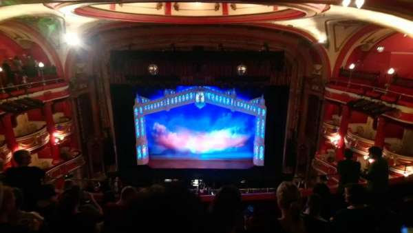 Bristol Hippodrome, section: Upper circle, row: G, seat: 24