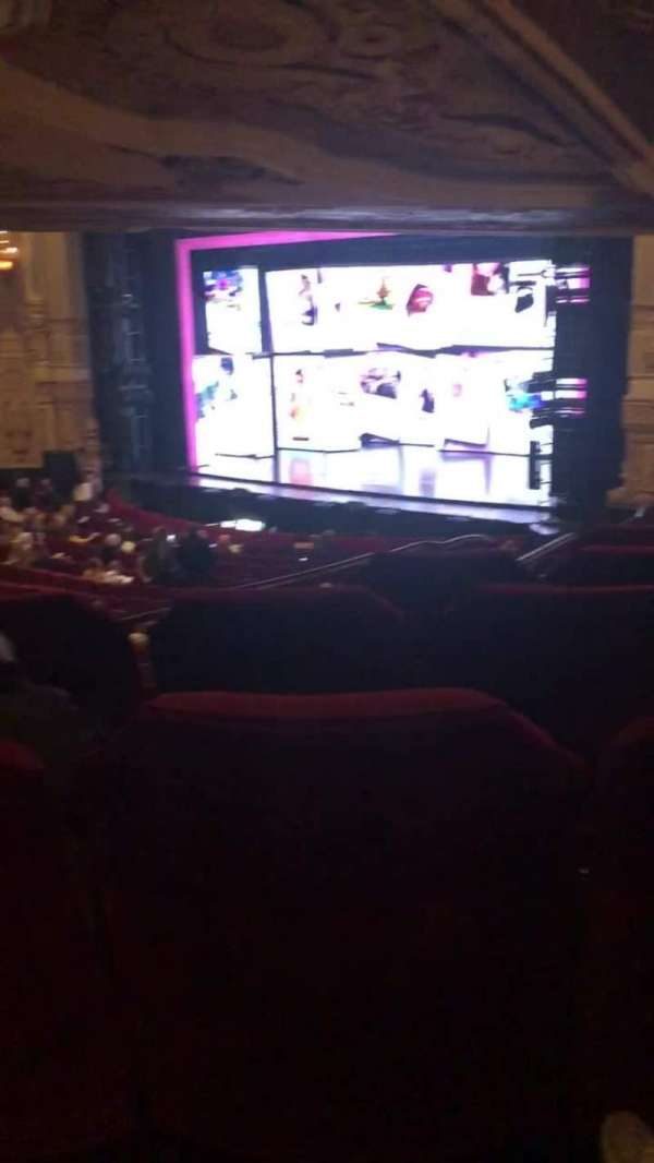 James M. Nederlander Theatre, section: Dress Circle R, row: LL, seat: 10