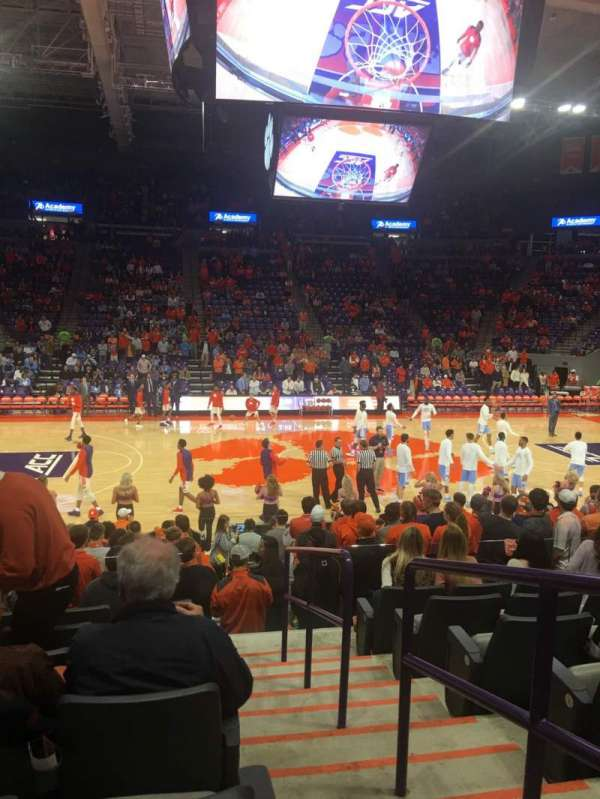 Littlejohn Coliseum, section: 130, row: O, seat: 1
